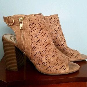 Fergalicious Block Heel Sandals